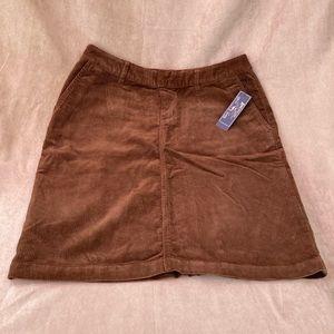 American Living Corduroy Skirt